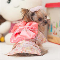 The new spring summer 2016 pet clothing Japanese kimono dress of teddy dog clothes pet clothes of dog