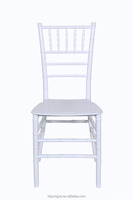 white color monoblock tiffany chairs