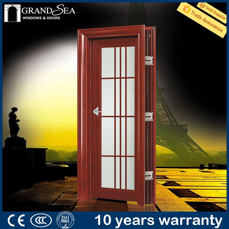 10 years warranty German equipment hardwares office doors glass inserts india style