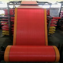Customer ordered size Plastic woven fabric sheet