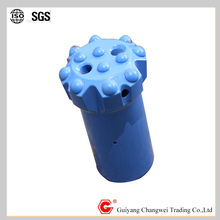 tungsten carbide 64mm button drill bit threading T38