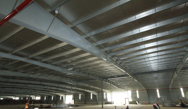 Lowest price Arch Steel workshop Space Frame building