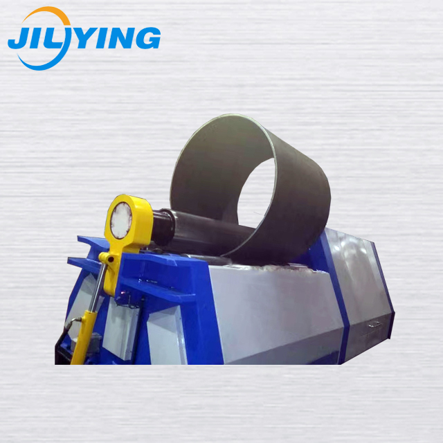 China manufacture W11-6X2000mm iron sheet bend 3 roller rolling machine with good performance
