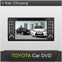 6.2inch Touch Screen Dashboard TOYOTA 4RUNNER Car DVD GPS Player with Bluetooth Radio USB AUX-In SWC