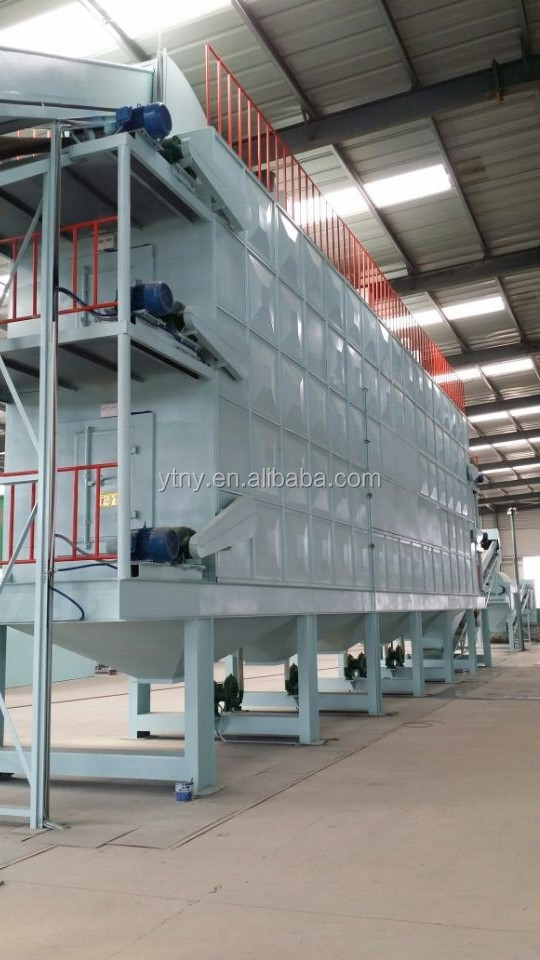 Automatic urban garbage sorting plant municipal solid waste sorting line for sorting msw with CE ISO