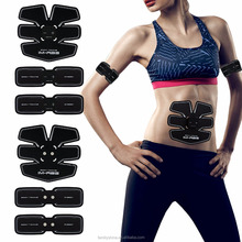 EMS Body Toning Electric Muscle Stimulation Fitness Body Building Body Exercise Abdominal Training Gear Belt Trainer FS-675
