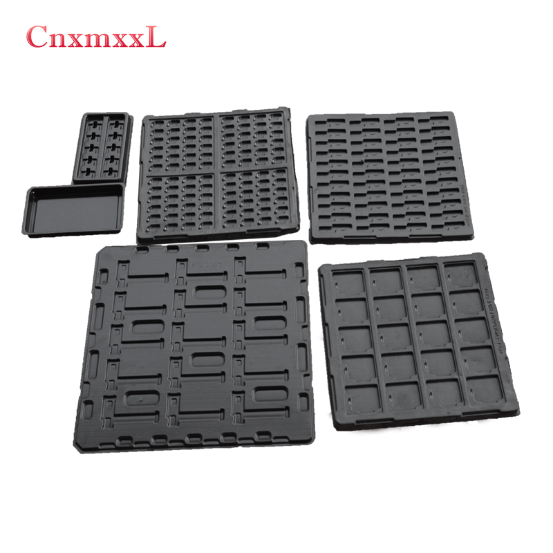 Plastic electronic components Anti-static tray that could be customized