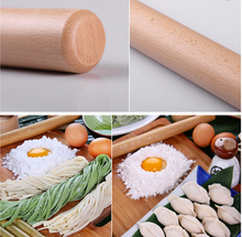 Beech wooden Pizza Rolling Pin ,Kitchen Utensil Pasta Noodle Bakery Household Kitchen Dough