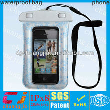 eco-friendly waterproof cell phone covers for iphone 5 with IPX8 certificate