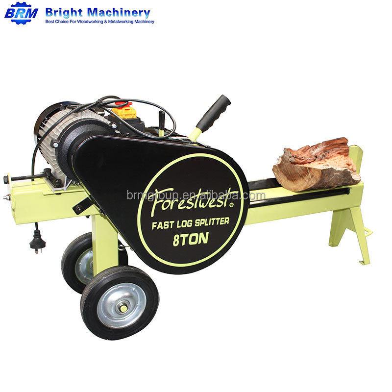 8T 1500W Electric Fast Mechanical Kinetic Log Splitter YouTube Video Available