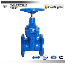 din flanged non rising stem soft-sealing cast steel gate valve alibaba hot product for 2014 china suppliers