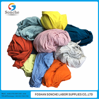 100% Cotton Light Textile Wiping Rags With High Quality (Used)
