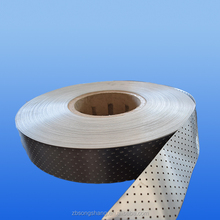 Coated perforated aluminium strip for PPR pipe