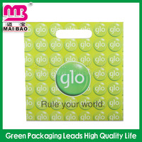 High quality eco-friendly 100% oxo biodegradable plastic die cut bags with cheap price
