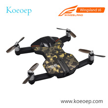 Newest Wingsland S6 V2 Pocket Selfie RC Drone WiFi FPV 4K UHD Camera Obstacle Avoidance Quadcopter VS Zerotech Dobby Drone