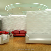 bamboo fiber material hotel decorative 3d wall panels