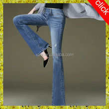 2014 latest women skinny fashionable flares lady jeans,custom plus size women jeans leggings tights,manufacturer China