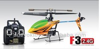 2013 new arrival!SYMA F3 4CH 2.4G mini alloy with gyro RC helicopter