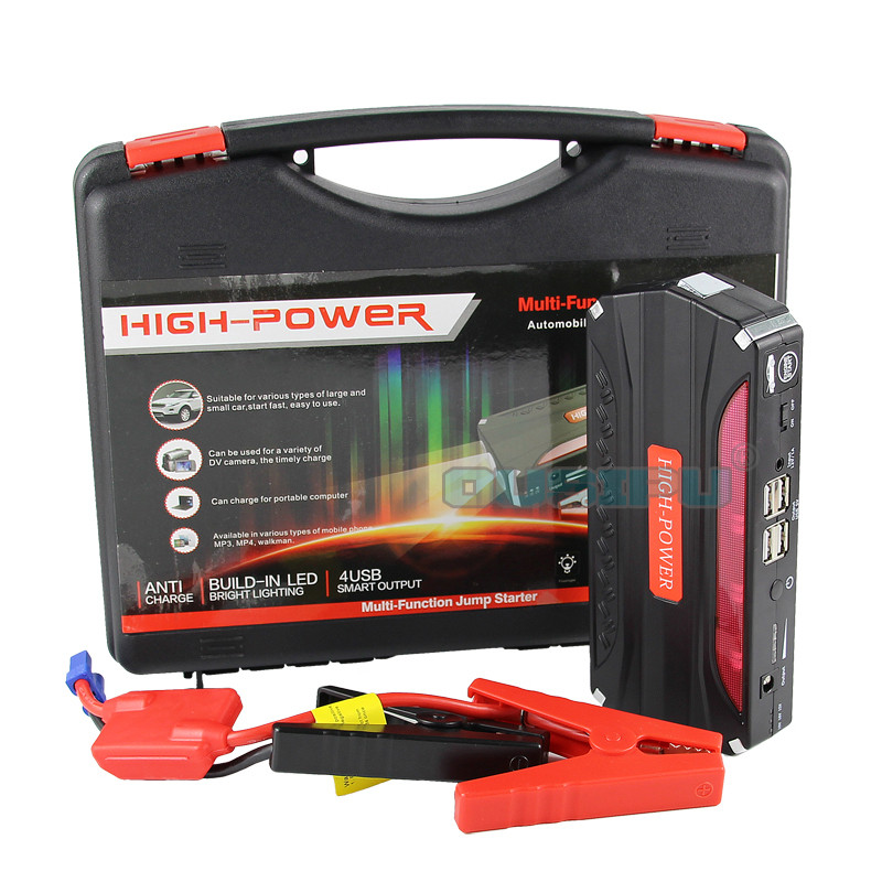 Mobile Portable Mini Jump Starter Car Jumper TM18B 12V Booster Power Battery Charger Phone Laptop