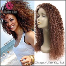 Alibaba china wholesale cheap full lace front kinky curly wigs