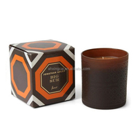 custom design paper cardboard warmer candle