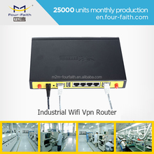 access point WIFI Router with sim card slot & 4 LAN ports support VPN & TCP/IP F3434 3g WIFI Router for wifi hotspot