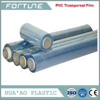 pvc plastic vinyl clear film for tablecloth