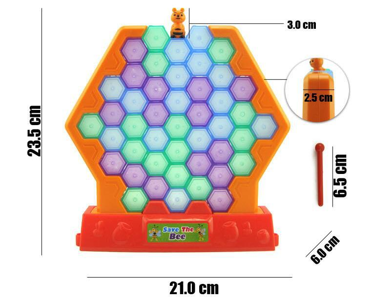 SAVE THE BEE INTELLIGENCE GAME PLASTIC GAME SAVE THE BEE FOR KIDS AND ELDERS FUN