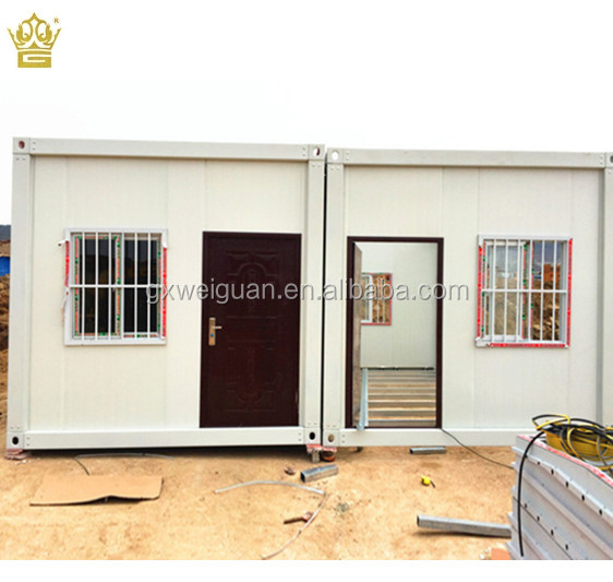 Economic house prefab houses Beautiful cheap flat pack container house kits