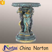 Outdoor large decoration metal crafts bronze statue garden fountain for sale NT-BSD056