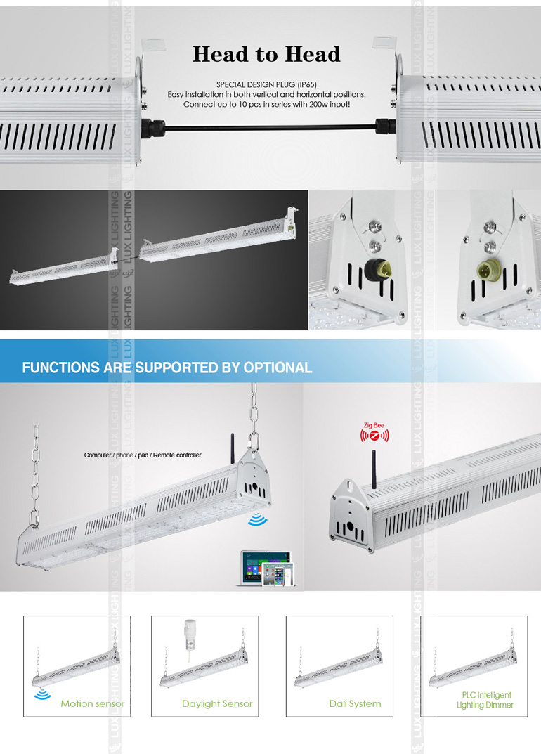 2016 new type 120lm IP67 480w 240w led high bay factory lighting manufacturers