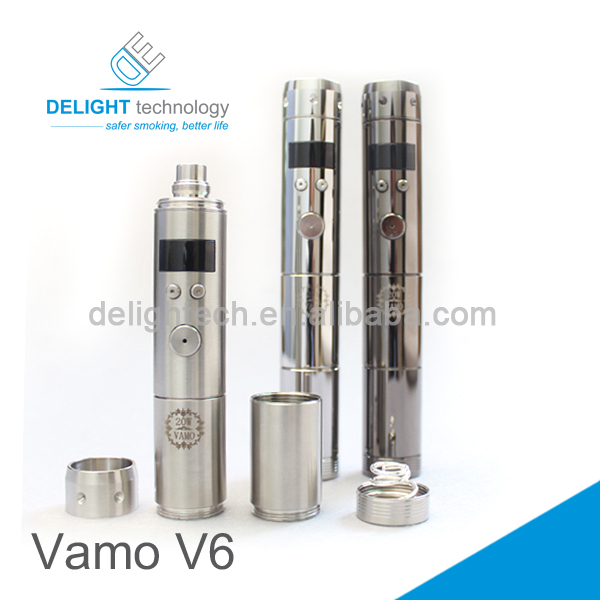 E cig Vamo V6 25W/35W mod wholesale price variable voltage ecig vamo ecig