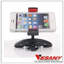 Vesany Factory supply new design smartphone holder cd slot universal car phone mount