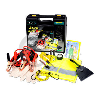 12pcs Industrial Car Emergency Repairing Tools Safety Kit