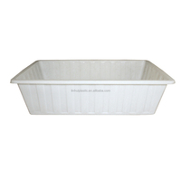 1200 litres plastic large water feed trough for horse pig cattle