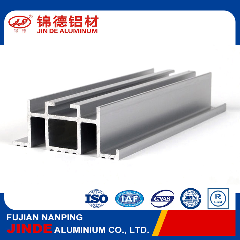 Good price silvery white aluminium extrusion profile for industry