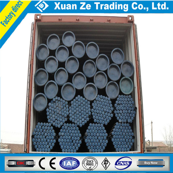 carbon seamless steel pipes din 17175/ st 35.8 carbon steel pipe price per ton