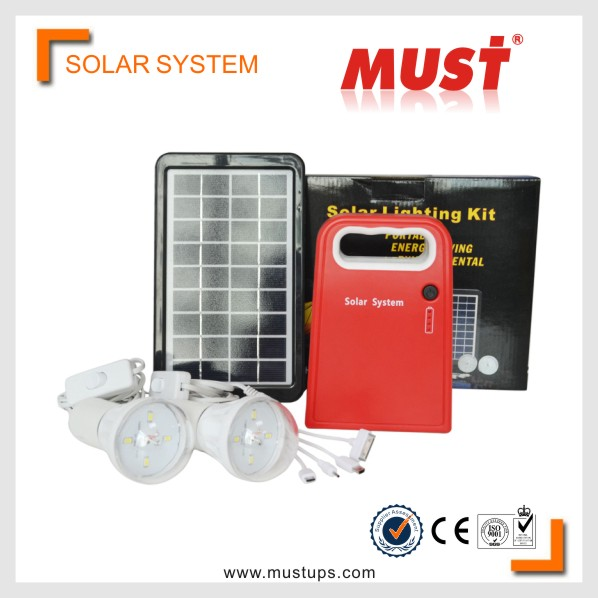 Must Wholesale High power home use 3w complete solar panel system compared with off grid solar system