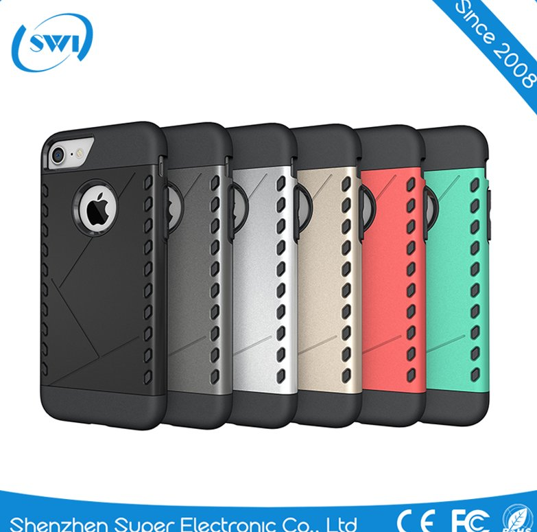 Waterproof Shockproof Hybird Rubber Case Cover for Apple iPhone 7 Defender Case