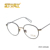 STORY Round Nude italian optical free space optics women mens round tortoise glasses