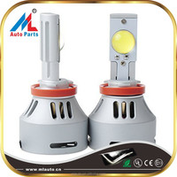LED Headlight Kit 80W 6400LM C-ree LED Replaces Halogen & HID Bulbs H1 H3 H4 H7 H8 H9 9005 9006 H11 HB3