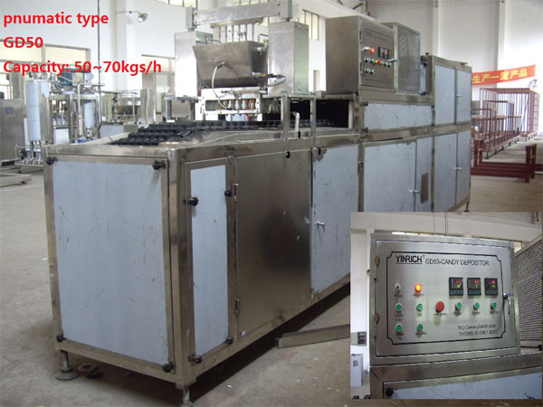 sales Service Provided Candy Making Machine