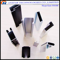 Top quality square recessed led aluminum extrusion profile for strip light bar