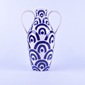 Wholesale blue ceramic vase