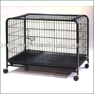 Square Tube Dog transport Cage crate
