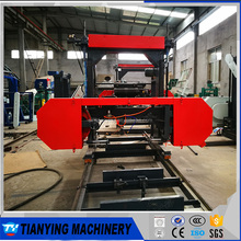 Diesel Engine Portable Horizontal Band Sawmill For Australia Market