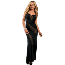 Sunspice new design long evening dress with a train movies hot sexy transparent nighties for women