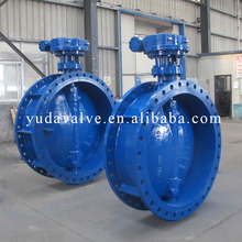 Casting Industrial Valve of Water/Gas/Oil Media Carbon Steel ASTM A216 WCB Price Butterfly Valve Gearbox Drive
