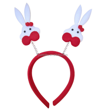 rabbit headband hairpin christmas decorations