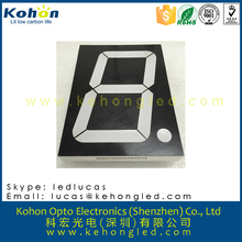 4'' high brightness single digit white 7 segment led display 1 digit numeric display common anode/cathode display
